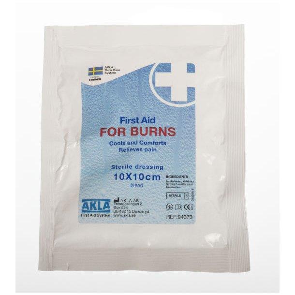 FOR BURNS Brannbandasje 10x10 cm