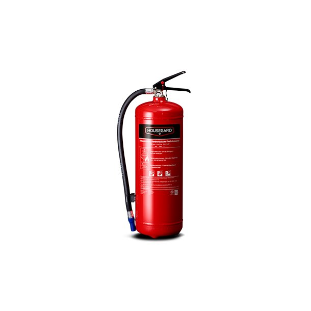 Housegard Pulverslukker 6 kg ABC 55A