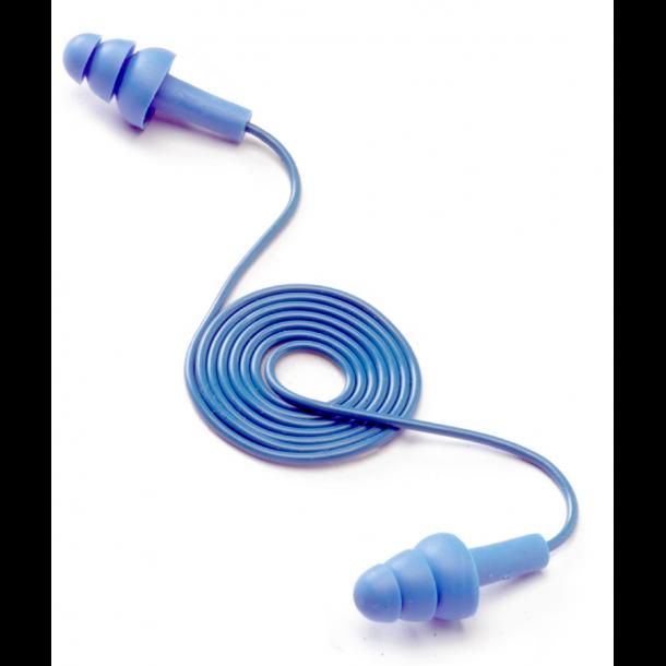 EAR Tracer Sporbar ørepropp med snor pk á 50 stk